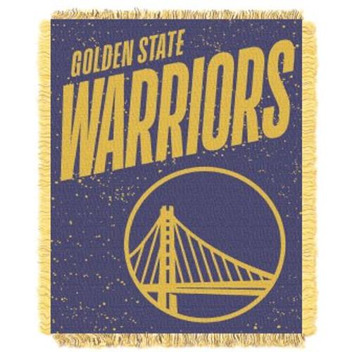 Golden State Warriors Headliner Woven Tapestry Throw Blanket
