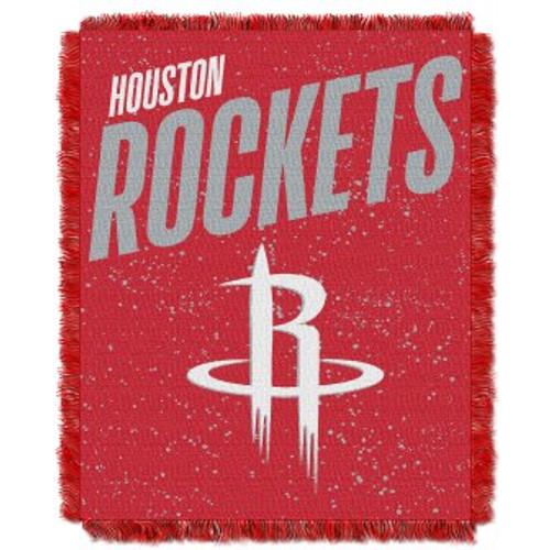 Houston Rockets Headliner Woven Tapestry Throw Blanket