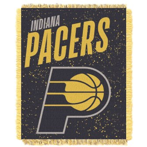Indiana Pacers Headliner Woven Tapestry Throw Blanket