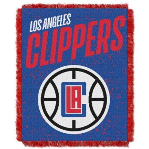 Los Angeles Clippers Headliner Woven Tapestry Throw Blanket