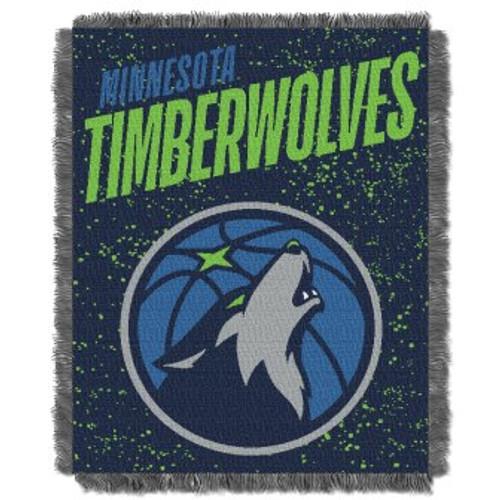 Minnesota Timberwolves Headliner Woven Tapestry Throw Blanket