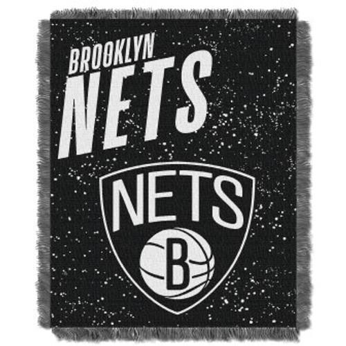 Brooklyn Nets Headliner Woven Tapestry Throw Blanket