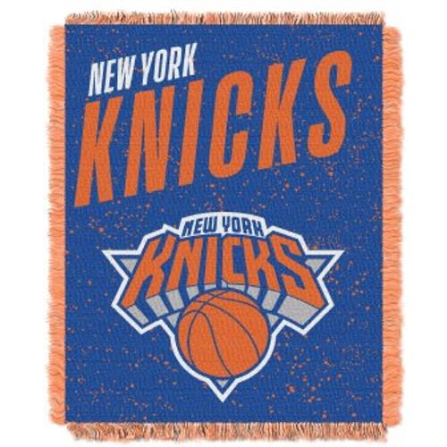 New York Knicks Headliner Woven Tapestry Throw Blanket