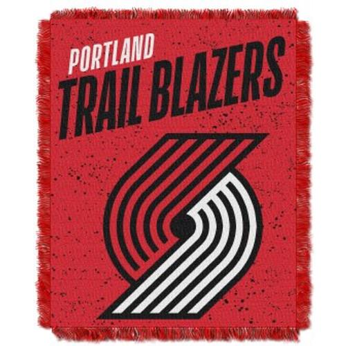 Portland Trail Blazers Headliner Woven Tapestry Throw Blanket