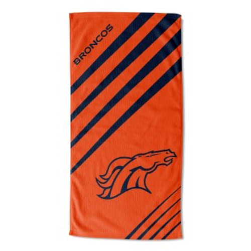 Denver Broncos 36x72 Upward Beach Towel Mat