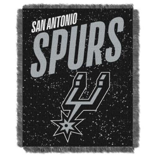 San Antonio Spurs Headliner Woven Tapestry Throw Blanket