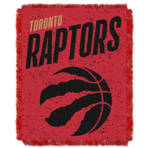 Toronto Raptors Headliner Woven Tapestry Throw Blanket