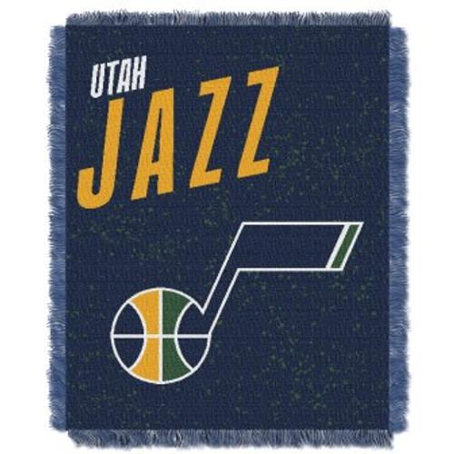 Utah Jazz Headliner Woven Tapestry Throw Blanket