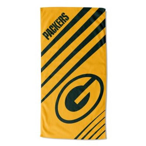 Green Bay Packers 36x72 Upward Beach Towel Mat