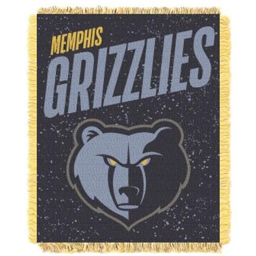 Memphis Grizzlies Headliner Woven Tapestry Throw Blanket