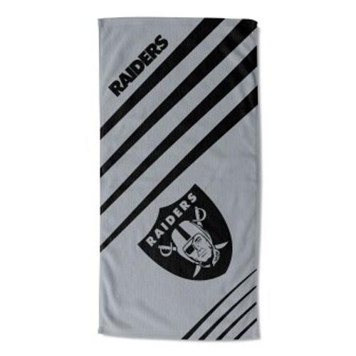 Oakland Raiders 36x72 Upward Beach Towel Mat