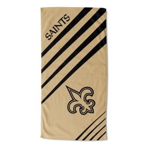 New Orleans Saints 36x72 Upward Beach Towel Mat