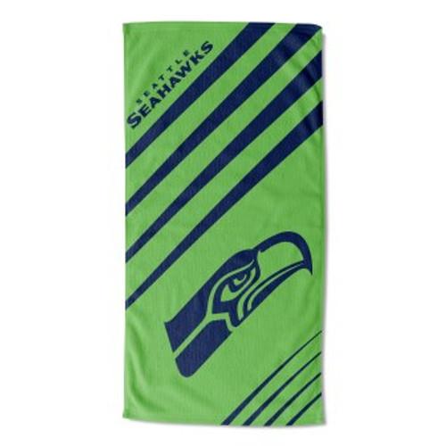 Seattle Seahawks 36x72 Upward Beach Towel Mat