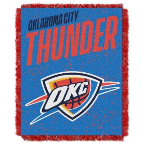 Oklahoma City Thunder Headliner Woven Tapestry Throw Blanket