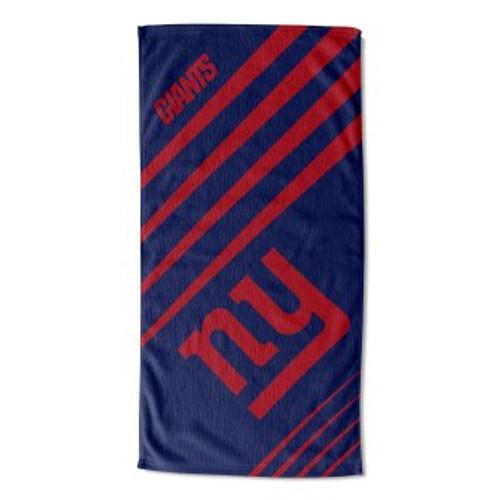 New York Giants 36x72 Upward Beach Towel Mat