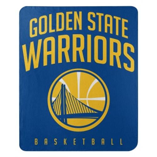 Golden State Warriors Lay Up Fleece Throw Blanket