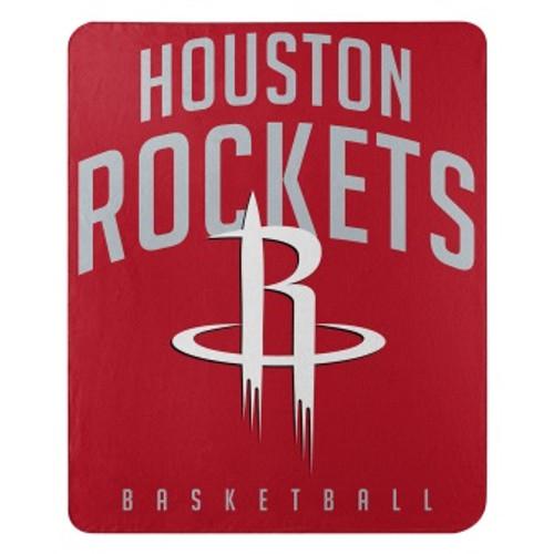 Houston Rockets Lay Up Fleece Throw Blanket