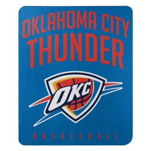Oklahoma City Thunder Lay Up Fleece Throw Blanket
