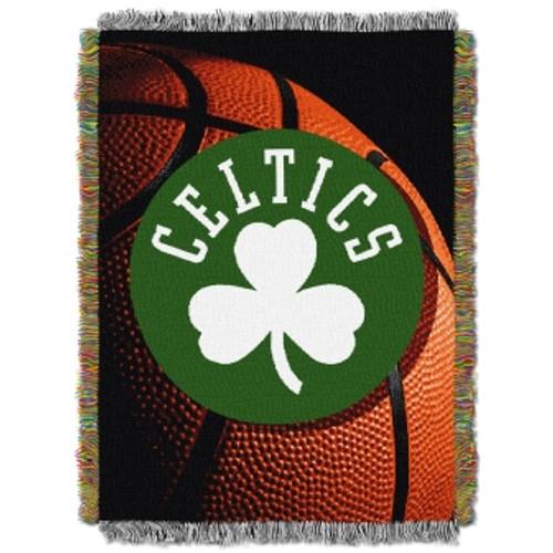 Boston Celtics Photo Real Woven Tapestry Throw Blanket