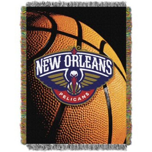 New Orleans Pelicans Photo Real Woven Tapestry Throw Blanket