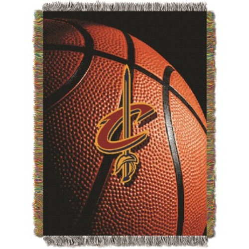 Cleveland Cavaliers Photo Real Woven Tapestry Throw Blanket