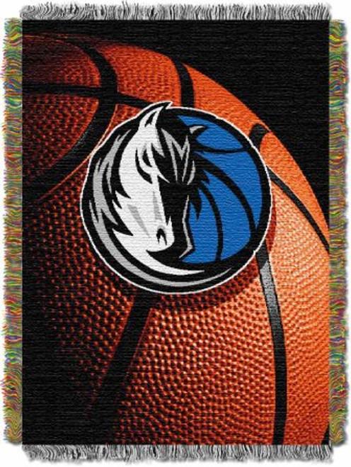 Dallas Mavericks Photo Real Woven Tapestry Throw Blanket