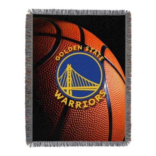 Golden State Warriors Photo Real Woven Tapestry Throw Blanket