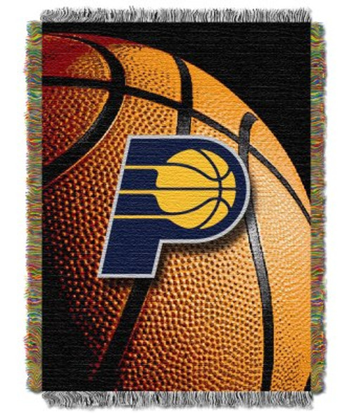 Indiana Pacers Photo Real Woven Tapestry Throw Blanket