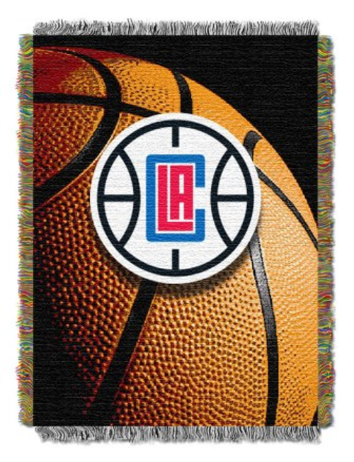 Los Angeles Clippers Photo Real Woven Tapestry Throw Blanket
