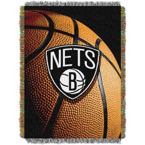 Brooklyn Nets Photo Real Woven Tapestry Throw Blanket