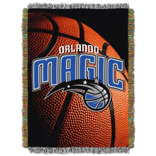 Orlando Magic Photo Real Woven Tapestry Throw Blanket
