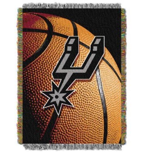 San Antonio Spurs Photo Real Woven Tapestry Throw Blanket
