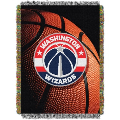 Washington Wizards Photo Real Woven Tapestry Throw Blanket