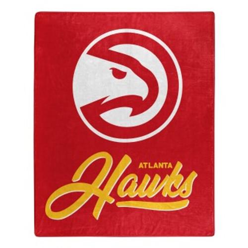 Atlanta Hawks Signature Micro Raschel Throw Blanket