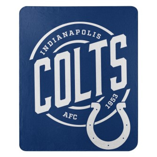 Indianapolis Colts Official NFL Campaign Fleece Throw Blanket