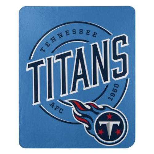 Tennessee Titans Official NFL Campaign Fleece Throw Blanket