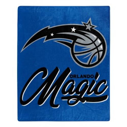 Orlando Magic Official NBA Signature Micro Raschel Throw Blanket