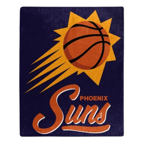 Phoenix Suns Official NBA Signature Micro Raschel Throw Blanket