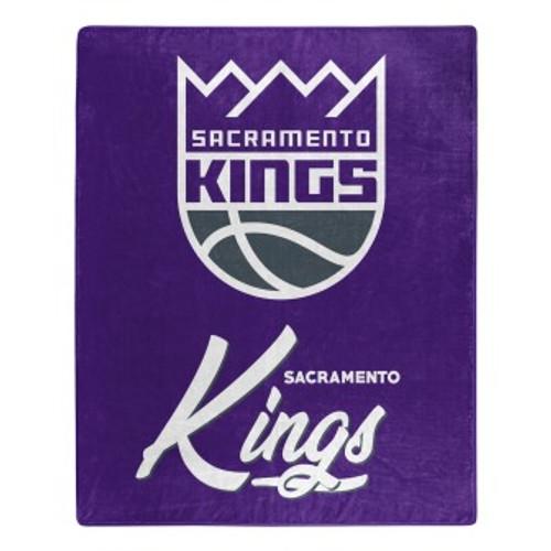 Sacramento Kings Official NBA Signature Micro Raschel Throw Blanket