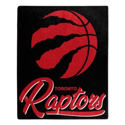 Toronto Raptors Official NBA Signature Micro Raschel Throw Blanket