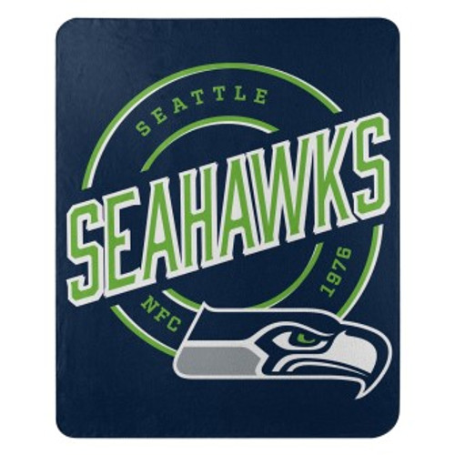 Seattle Seahawks Official NFL Campaign Fleece Throw Blanket
