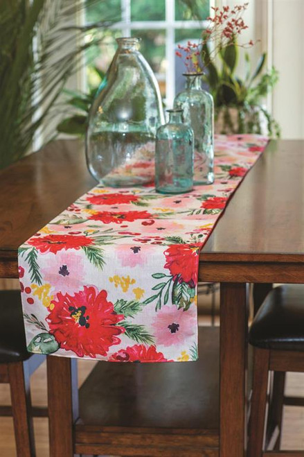 Holiday Floral 13 x 72 Runner