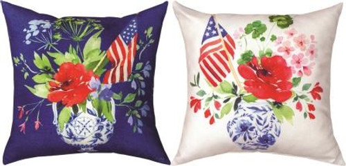 America The Beautiful 18x18 Pillow