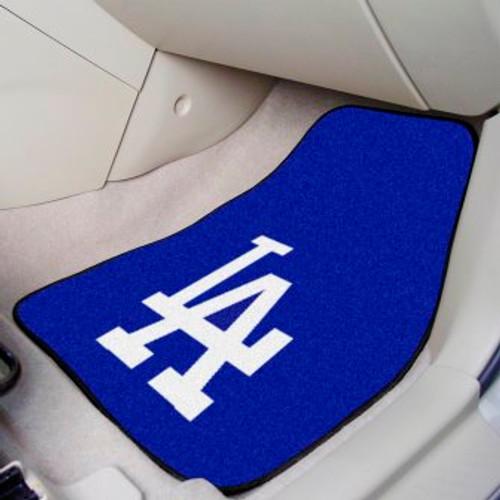 Los Angeles Dodgers 2-pc Carpet Car Mat Set