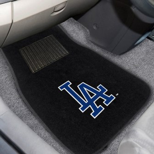 Los Angeles Dodgers 2-pc Embroidered Car Mat Set