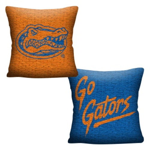 Florida Gators Official NCAA Invert Woven Pillow