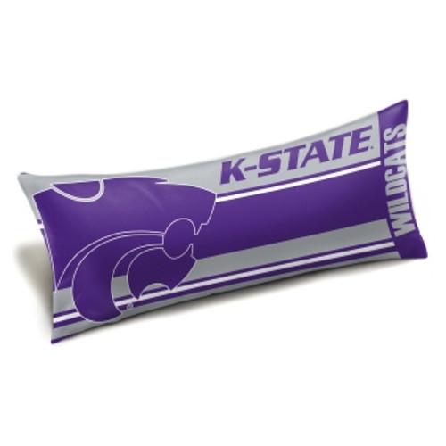 Kansas State Official NCAA Seal Body Pillow