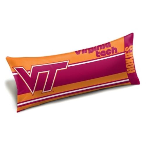 Virginia Tech Official NCAA Seal Body Pillow
