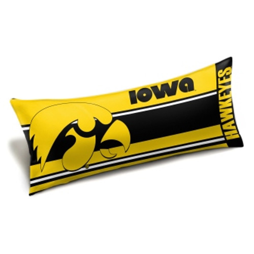 Iowa Hawkeyes Official NCAA Seal Body Pillow