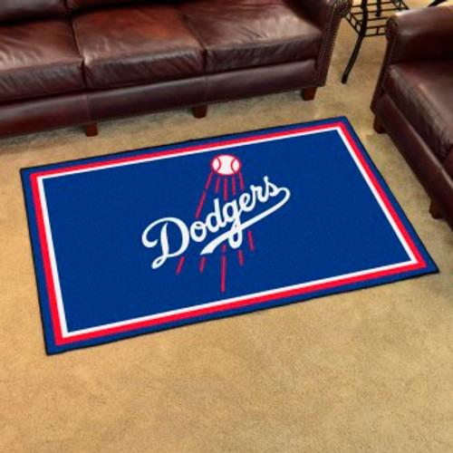 Los Angeles Dodgers 4x6 Rug